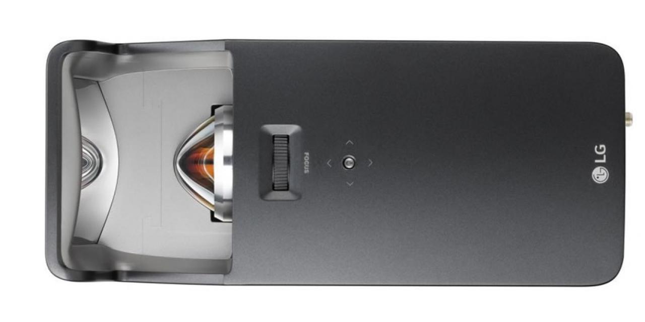 LG Adagio-smart-beamer-von oben