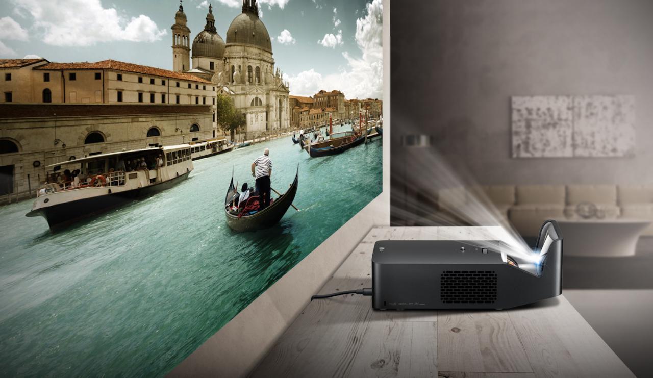 LG Adagio-smart-beamer-von kurzdistandbeamer